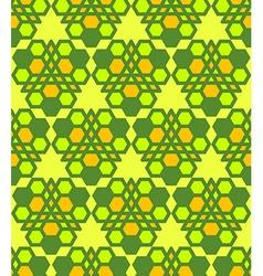 green salad orange abstract geometric seamless vector image