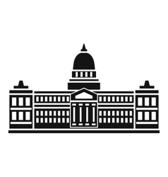 Palace of Congress Argentina icon simple style vector