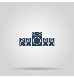 Speaker icon concept for vector image