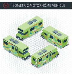 modern motorhome car vector image