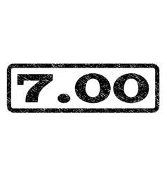 700 watermark stamp vector image