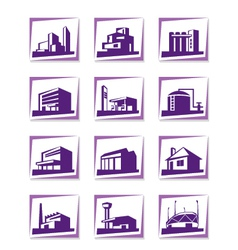 Different types construction vector