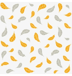 feathers background vector image