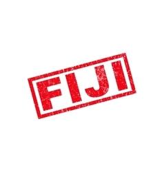 Fiji rubber stamp vector