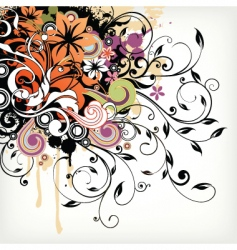 illustrative collage vector image