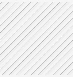Seamless abstract 3d diagonal stripe background vector