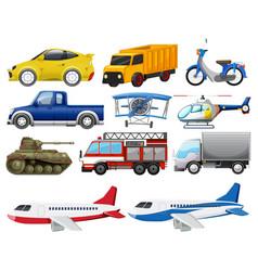 Set transportation vehicle vector