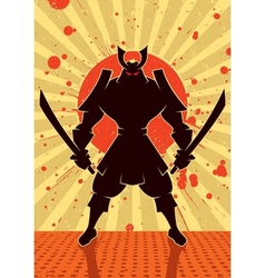 Shadow Samurai vector