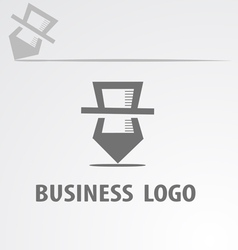 business Logotype vector image