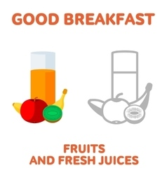breakfast 1205 elements 06 vector image