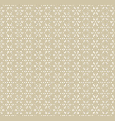 Geometric golden seamless pattern in asian style vector