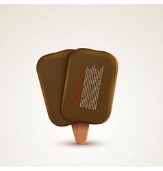 ice cream background Eps10 vector image