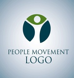 PEOPLE MOVEMENT LOGO 1 vector