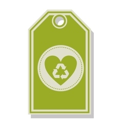 recycle symbol design vector image