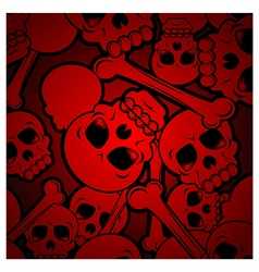 Skull Background vector