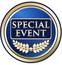 Special event icon vector