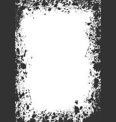 Splatter boarder vector