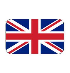 uk flag icon vector image