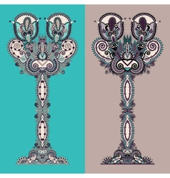 Unusual stylized decorative tree eco concept vector