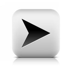 Web icon with black arrow sign vector