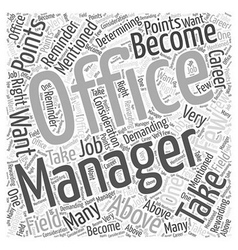 Do you have what it takes to become an office vector