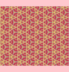 Abstract pattern red vector