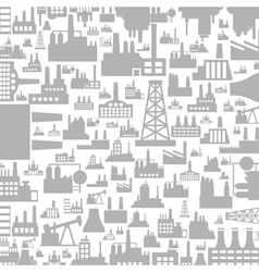 Background the industry3 vector image