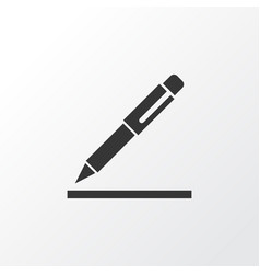 Contract signing icon symbol premium quality vector