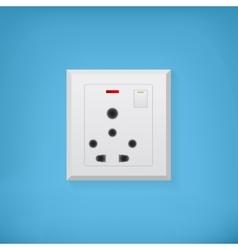 Electric socket vector