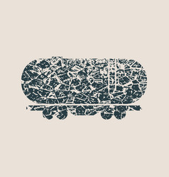 freight wagon icon vector image