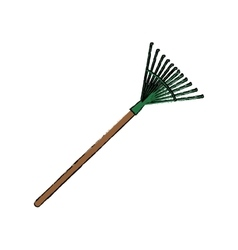Gardening tool equipment vector image