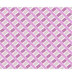 Hand drawing ornament pattern pink purple vector