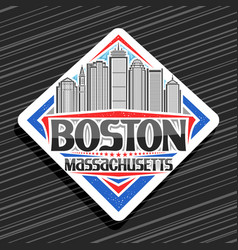 Logo for boston vector