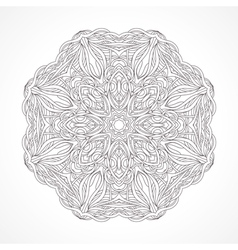 Mandala Ethnic decorative elements Indian Islam vector