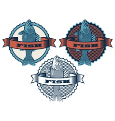 range fish vector image
