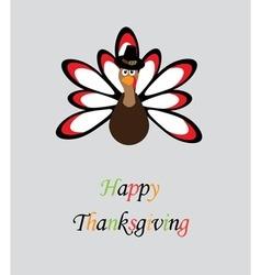 Thanksgiving turkey vector