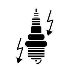 ignition - automobile icon vector image