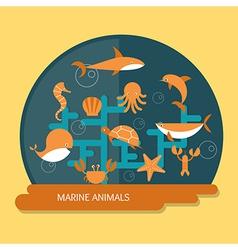 Ocean Conservation vector image