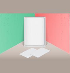 show your logo label brochures flyers vector image
