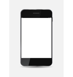 Black Mobile Phone vector