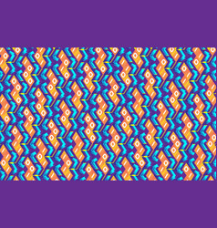 blockchain concept isometric banner binary vector image