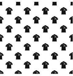 Bowling polo shirt pattern seamless vector