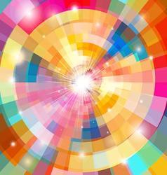 Bright multicolored a gradient background vector