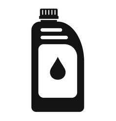 Car motor oil icon simple style vector