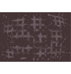 Duoton background blot squares vector