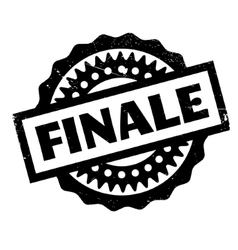 Finale rubber stamp vector