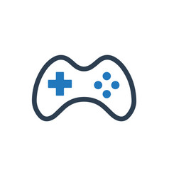 Gamepad icon vector