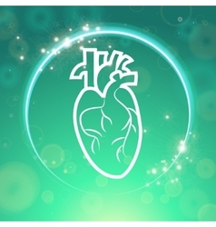 Heart pacemaker body vector