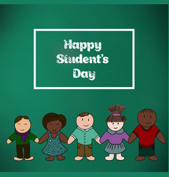 International students day picture for your vector