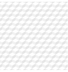 white geometric texture seamless background eps10 vector image